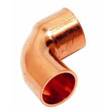 Codos de cobre MH 92 Cu  18 mm.