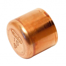 Tapones hembra de cobre 301 Cu  28 mm.