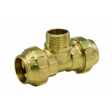 Tes rosca macho Fittings 25 * 3/4""
