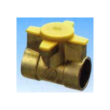 """Pateres 22 mm. Continuo """"Gas Natural"""""""